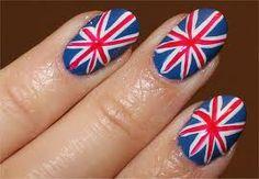 Flag England Nailss