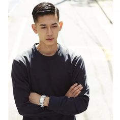 「asian mens hairstyles」の画像検索結果
