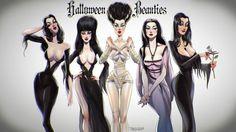 women of Halloween (84 pieces)