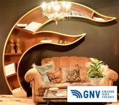 Interior #design solution at Salone del Mobile, international furnishing accessories #exhibition #salonedelmobile in #milan #italy  Reach Italy with GNV at http://www.gnv.it/