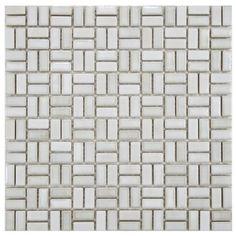 Arcadia Weave Glacier 12 x 12 Inch Porcelain Floor & Wall Tile (10 Pcs/10 Sq. Ft. Per Case, ..., http://www.amazon.com/dp/B00E8LJMX8/ref=cm_sw_r_pi_awdm_xSejxb1CG85K9