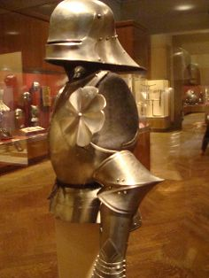Medieval Armor - look at the spiky elbows!