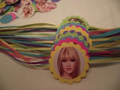 TAYLOR SWIFT Napkin Rings Set of 12  - Children's Birthday Party Supplies. $6.00, via Etsy.@Julie Ortega