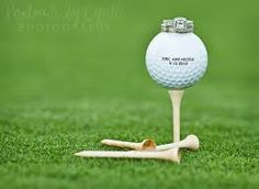 Image result for wedding pictures on a golf course