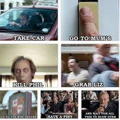 anything with simon pegg in it, has a potential to be clever:) shaun of the dead Voices Movie, I Love Simon, Bill Bailey, Geek Movies, Little Britain, Simon Pegg, Awesome Movies, Tv Land, Black Books