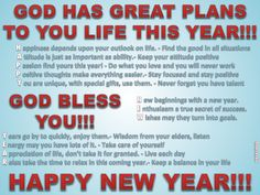 GOD HAS GREAT PLANS TO YOU