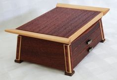 DESK BOX - by kiefer @ LumberJocks.com ~ woodworking community