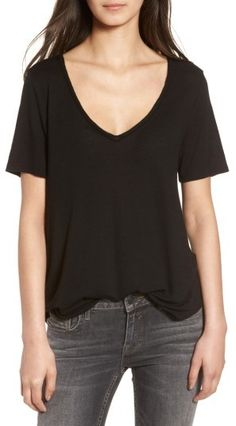 bf7e2bb143a9 5 Things I love from the 2018 Nordstrom Anniversary Sale  BP Raw Edge V-Neck  Tee