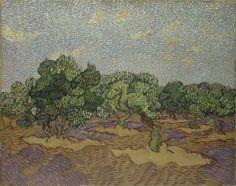 Vincent Van Gogh (Pays-B. 1853-1890), Verger d'oliviers, 1889, huile sur toile, 72,7 x 92,1 cm, New-York, The Metropolitan Museum of Art
