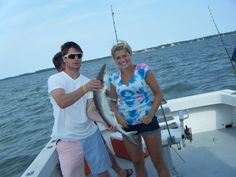Shark fishing off Hilton Head Island!