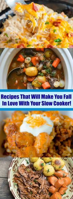 Recipes That Will Make You Fall In Love With Your Slow Cooker!