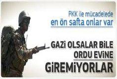Uzman Erbaşlar Gazi bile olsalar orduevlerine giremiyorlar...