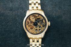 Invicta Skeleton Dial Manual Wind Beautiful Watches, Luxury Watches, Gold Watch, Skeleton, Manual, Random Stuff, Geek Stuff, Accessories, Geek Things