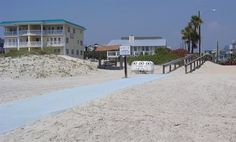 Tybee's beaches and attractions are here for everyone to enjoy, no matter their mobility. The island supplies mobi-mats (mobility mats) at several locations along the beach for easy, hassle-free handicap access.