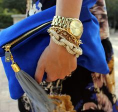 Love It or Lose It: Arm Party! Are you a fan of this stacked bracelet and watch look?
