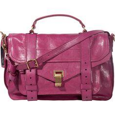 Proenza Schouler PS1 Medium Leather - Raspberry