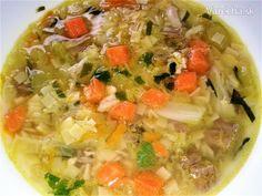 Francúzska polievka s kelom (fotorecept)