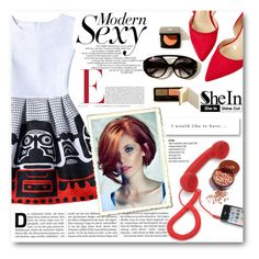 """""""SheIn"""" by tanja-871 ❤ liked on Polyvore featuring WithChic, Native Union and Marc"""