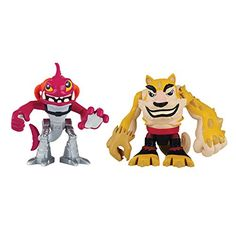 Teenage Mutant Ninja Turtles PreCool Half Shell Heroes Dogpound and Fishface Figures *** Click image to review more details.Note:It is affiliate link to Amazon.