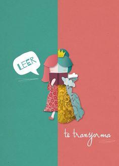 """""""Leer te transforma"""". Selección oficial del Concurso nacional de cartel…"""