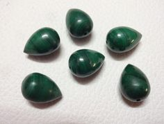 5 Matched Pair AAA Quality Aqua Chalcedony Smooth Pear Shape Briolettes,8x12mm