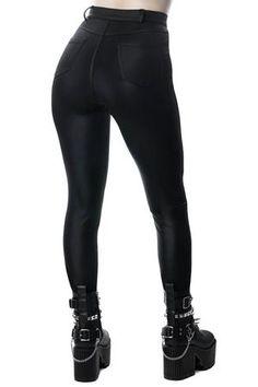 Women's Bottoms | Jeans, Leggings, Skirts & Shorts | Killstar Jeans Leggings, Shorts, Short Skirts, Mini Skirts, Goth Skirt, Gothic Leggings, Women's Bottoms, Leather Pants, Dress Up