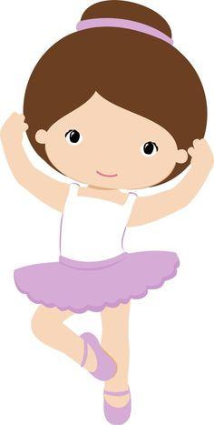 Bailarines de ballet 100/% Tela De Algodón Confección Artesanal empavesado bailando Girl