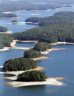 Lake Lanier. ***Not exactly North Georgia, like us, but a beautiful area just the same! Had many great times here!***