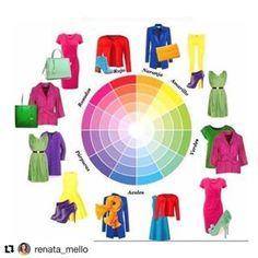 Fashion Bubbles - Moda e o Novo na Cultura Saiba como combinar cores, usando o Círculo Cromático e importância delas na sua imagem pessoal e profissional