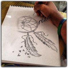 Dream DIY drawing idea love love tattoo art