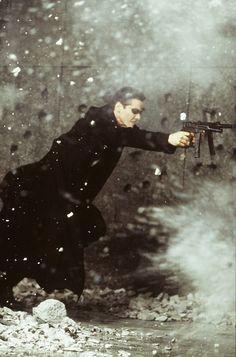 Amazing still from The Matrix