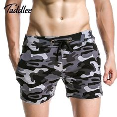 Men Jogger Sweatpants Casual Boxers Trunks Men's
