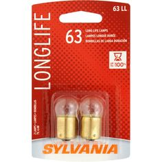 The SYLVANIA Long Life Mini Bulb brings increased bulb life to various automotive lighting applications. These lamps have been engineered to withstand a sizeable amount of road shock and vibration. They are also constructed with a robust filament and proprietary gas mixture that results in much longer life. SYLVANIA lamps are designed to be durable, lower maintenance, and provide greater safety.