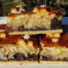 Ünnepi almás-mákos pite Recept képpel - Mindmegette.hu - Receptek Spanakopita, Tiramisu, Muffin, Cooking, Ethnic Recipes, Desserts, Christmas, Food, Poppy