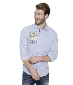 Košile z kolekce Aviation Denim Button Up, Button Up Shirts, Camp David, Men's Fashion, Blue, Moda Masculina, Mens Fashion, Man Fashion, Fashion Men