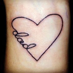... tattoo on Pinterest | In memory of Name tattoos and Memorial tattoos