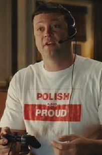 As well as any Vince Vaughn movies where he wears a Polish t-shirt — no matter if it's funny or not.   21 Things Only Polish-Americans Understand Fred Claus, Vince Vaughn, Norman Bates, 21 Things, Wedding Crashers, Student Gifts, Polish, American, Celebrities