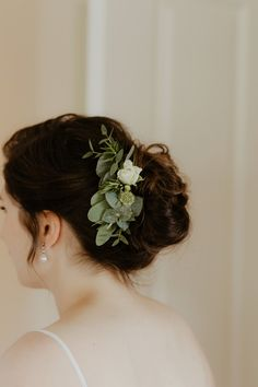 Bridal Up Do with Eucalyptus & Florals | Catherine Deane Omelia Gown | Yurt Reception | Cad and The Dandy Suit | Wild Purple Flowers | Green Foliage | Copper Accents | DIY | Cinzia Bruschini | http://www.rockmywedding.co.uk/kate-steve
