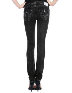 True Religion Womens Jeans Size 26 Slim Straight Basic Nat in Mudslide NWT $244 #TrueReligion #StraightLeg