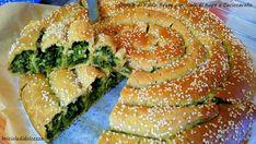 Spirale+di+Pasta+Brisee+con+Cime+di+Rapa+e+Caciocavallo