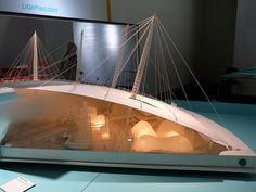 Millenium Dome Model, Richard Rogers + Architects Exhibition, Design Museum