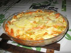 Fish and vegetable curry gratin - cuisine - Meat Recipes Whole30 Fish Recipes, Meat Recipes, Healthy Dinner Recipes, Asian Recipes, Cooking Recipes, Ethnic Recipes, Vegetable Curry, Vegetable Recipes, Fish And Seafood