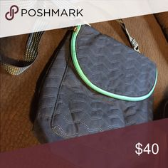 Backpack purse Can be made a cross body, back pack, purse, very versatile thirty-one Bags Backpacks