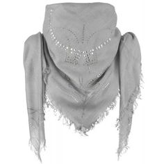Texas Pale Grey Scarf £52