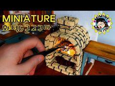 미니어쳐 식칼세트 만들기(칼꽂이도 ㅇㅇ)miniature - Knife set - YouTube