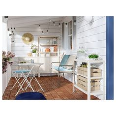 KOLBJÖRN Cabinet, indoor/outdoor – beige – IKEA – Keep up with the times. Outdoor Dining, Outdoor Chairs, Indoor Outdoor, Outdoor Furniture Sets, Ikea Outdoor, Balcony Chairs, Wooden Furniture, Chair Pads, Chair Cushions
