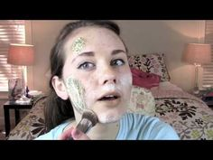 zombie makeup tutorial/ this is hands down the best vid i have watched all day. the little gal does a great job...check this out if you want to be a zombie!!