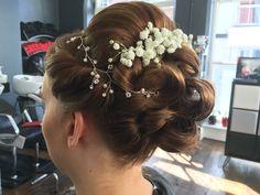 Wedding hair by Carlene #Wedding #hair