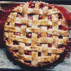 Sour Cream Almond Pie