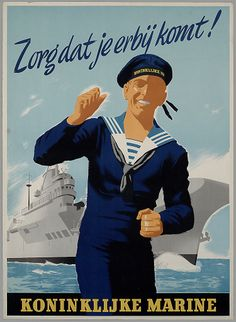 Marine News, Royal Dutch, Navy Uniforms, Navy Marine, Military Weapons, Marines, Soldiers, Vintage Posters, Ww2